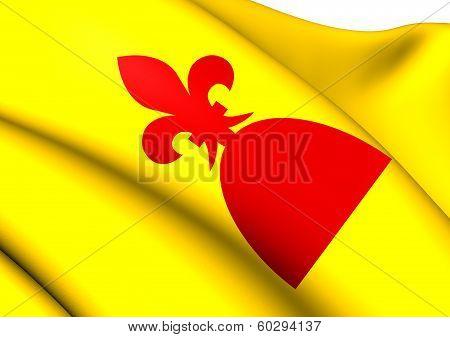 Flag Of Mont-roig Del Camp, Spain.