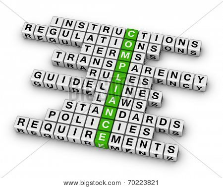 compliance crossword puzzle