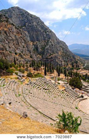 Stadium And Apollo Temple