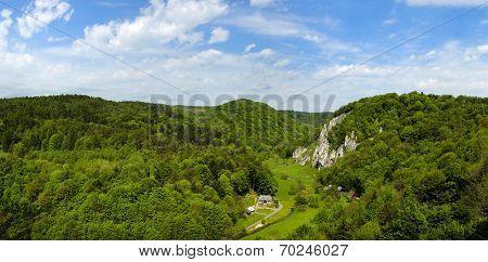 Summer In Ojcow National Park.