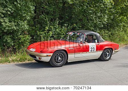 Vintage Lotus Elan Sprint (1971)