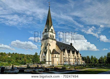 Church of Vindeln - Lapland, Sweden