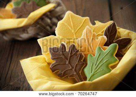 Autumnal Looking Biscuits