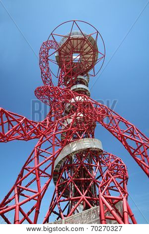 London - April 5. The Arcelor Mittal Orbit From The Games