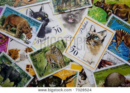 World Stamps: Animals