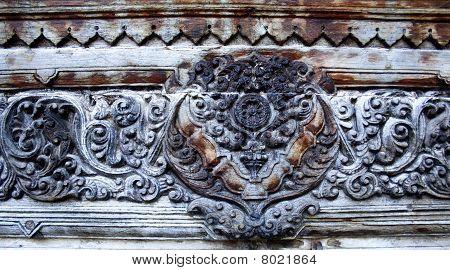 Wooden Carving Details
