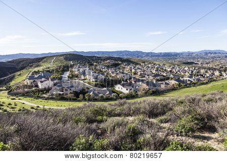 Suburban Simi Valley west of Los Angeles, California.