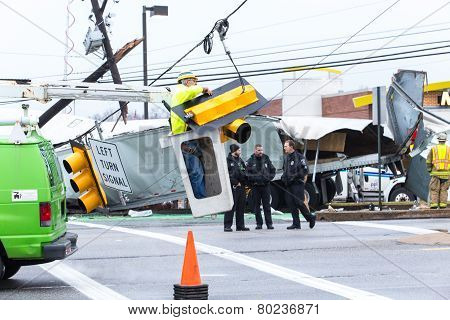 Route 30 Truck Accident