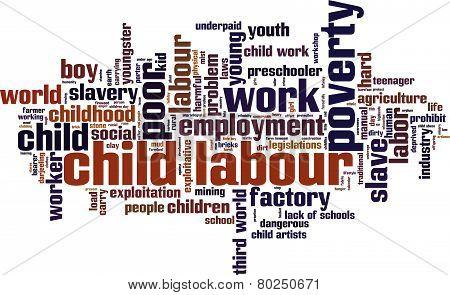 Child Labour Word Cloud