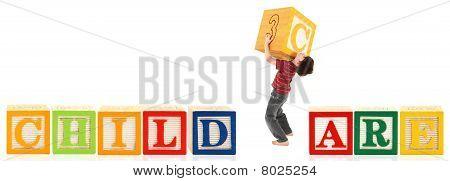 Boy Building Child Care