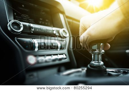 Car Drive Manual Shifting