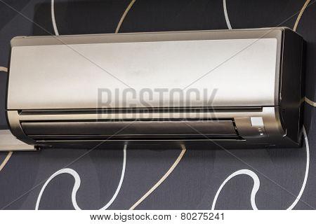 Air Conditioning On Designer Wallpaper