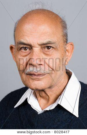 Senior Asian Indian Man