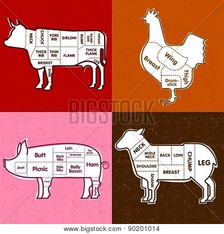 Beef Pork Lamb Chicken