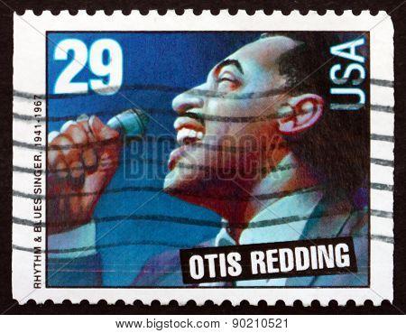Postage Stamp Usa 1993 Otis Redding, American Singer And Songwri
