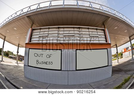 Out Of Business Convenience Store/