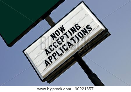 Employment Opportunity Sign