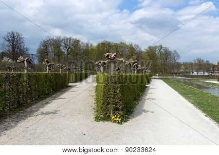 Park At The Eremitage, Old Palace In Bayreuth, Germany, 2015
