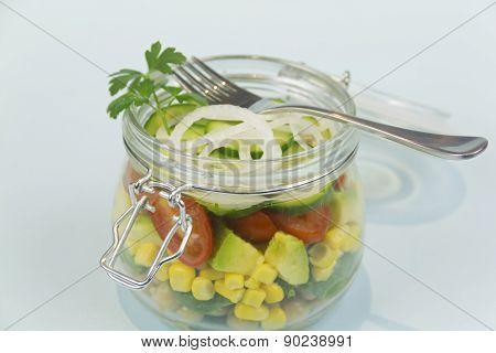Jar Of Salad