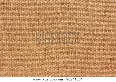 Natural burlap background, close up