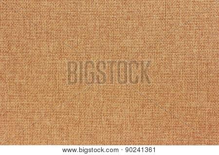 Natural burlap background, close up
