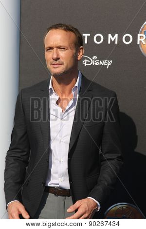 LOS ANGELES - MAY 9:  Tim McGraw at the