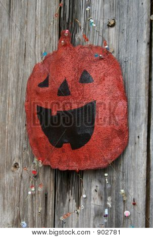 Rustic Pumpkin Decoration