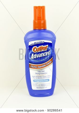 Bottle Of Cutter Insect Repellent