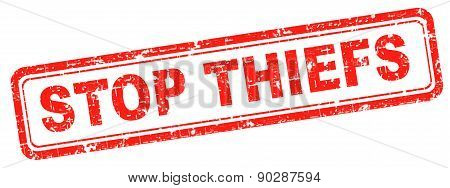 catch thiefs no theft arrest by police investigation or neighborhood watch online internet thief poster