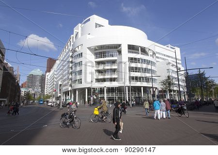 City Hall The Hague By Richard Meier
