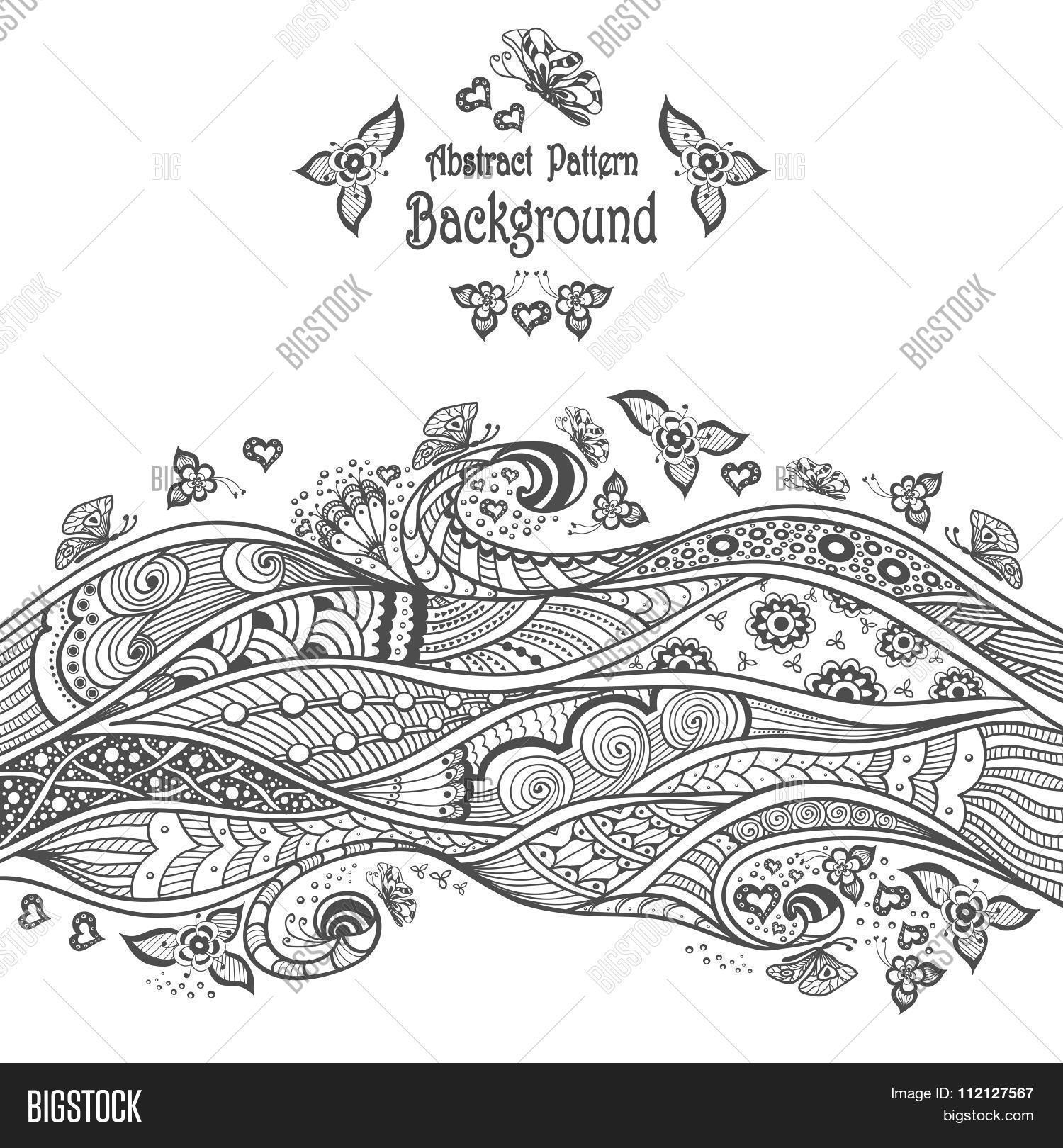 Abstract Pattern Vector & Photo (Free Trial) | Bigstock