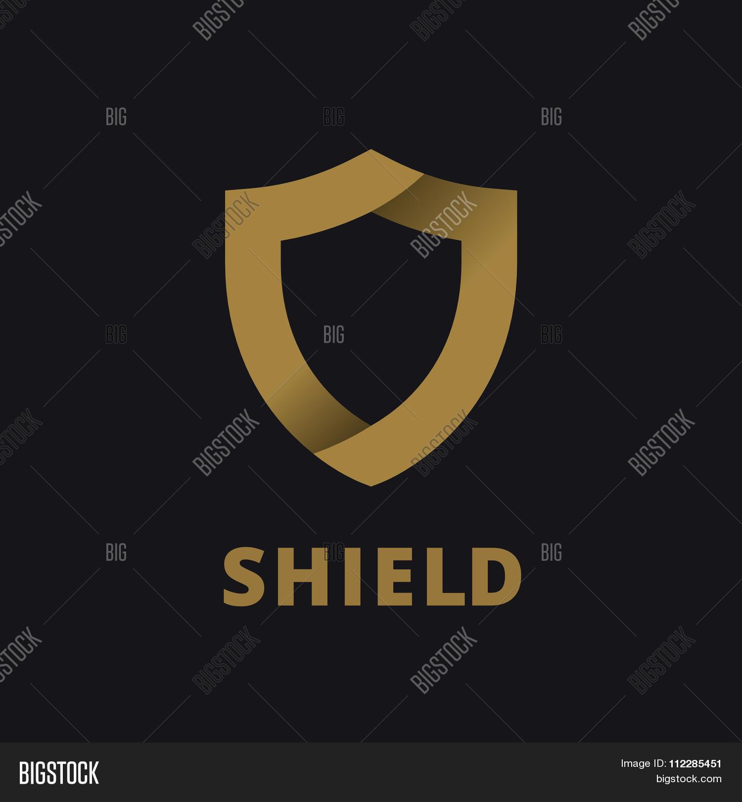 Shield Logo Icon Vector & Photo (Free Trial)   Bigstock
