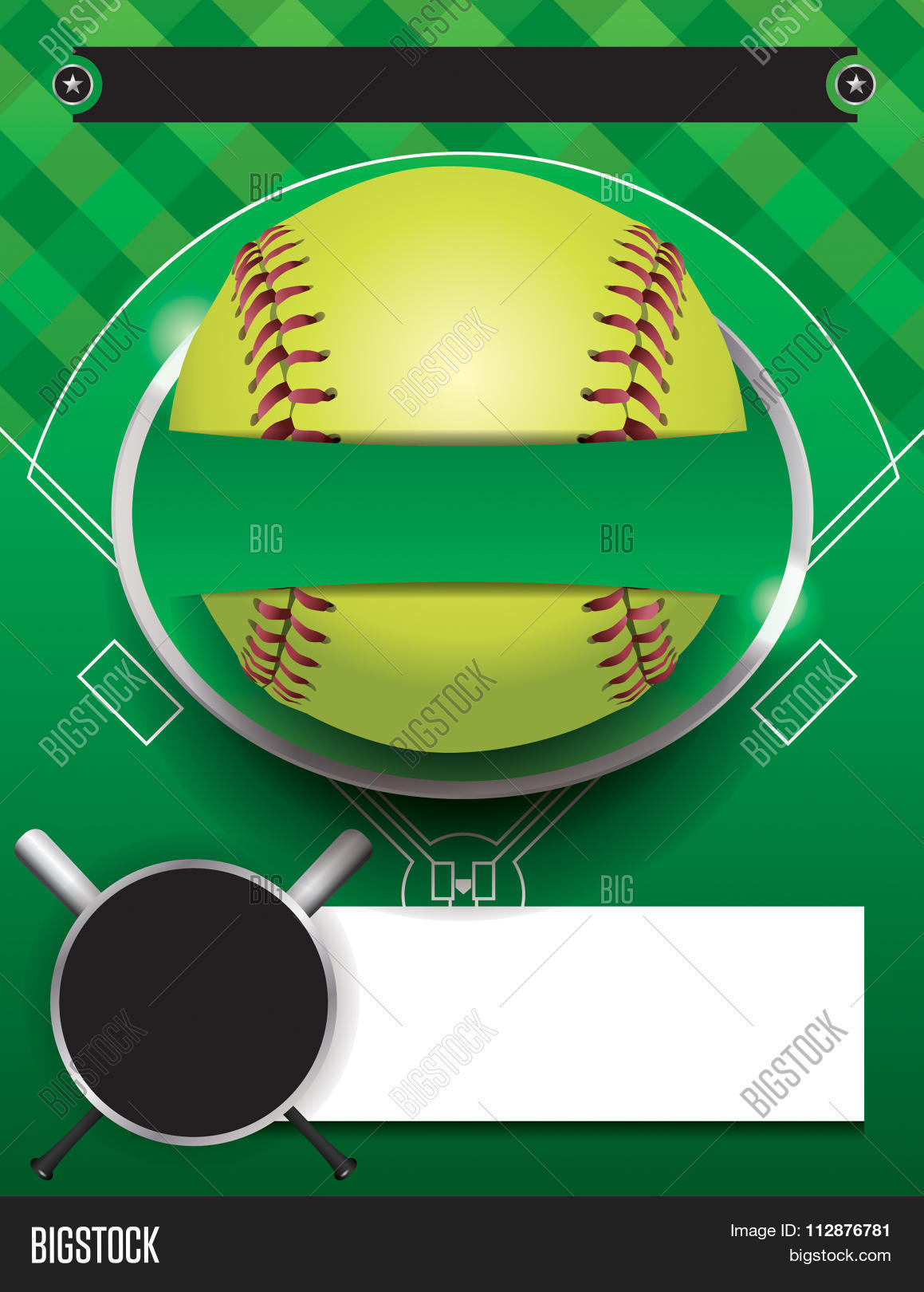 vector softball vector  u0026 photo  free trial