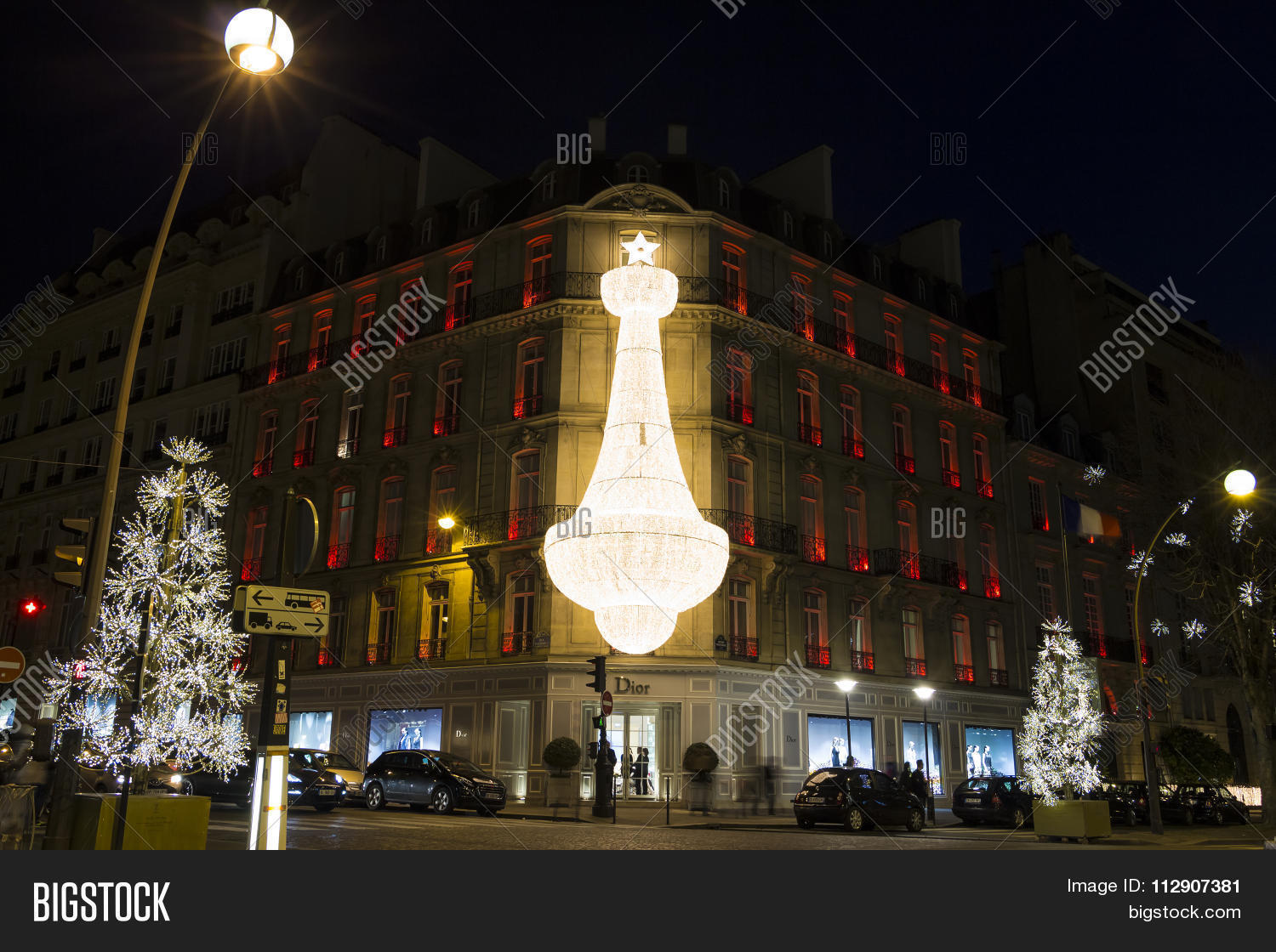 Christmas In France Decorations.Christmas Decorations Image Photo Free Trial Bigstock