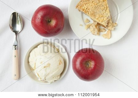 Ice Cream and Apple Pie