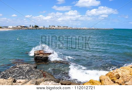 Concrete Marine Buoy: Fremantle, Western Australia