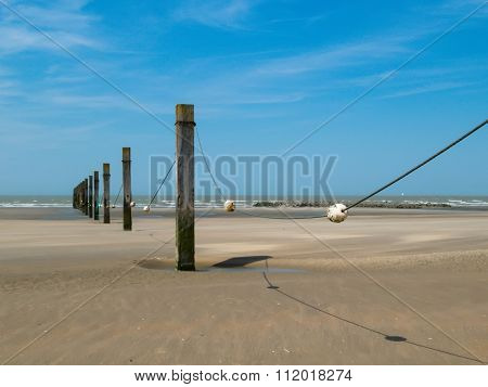 Breakwaters and buoys