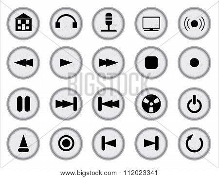 Web Audio Icon Set