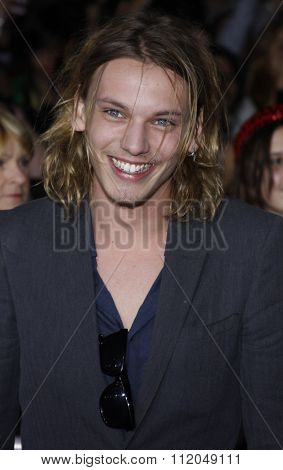 WESTWOOD, CALIFORNIA - November 16, 2009. Jamie Campbell Bower at the Los Angeles premiere of