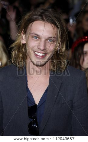 Jamie Campbell Bower at the Los Angeles Premiere of