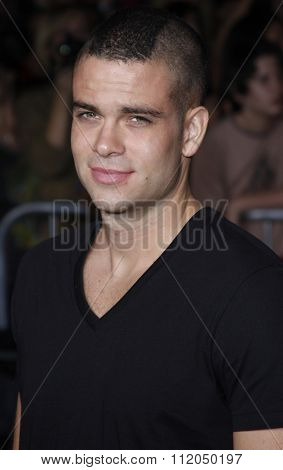 WESTWOOD, CALIFORNIA - November 16, 2009. Mark Salling at the Los Angeles premiere of