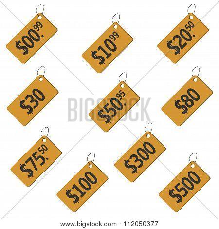 Price label set