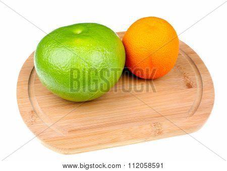 Green Grapefruit Sweetie And Orange