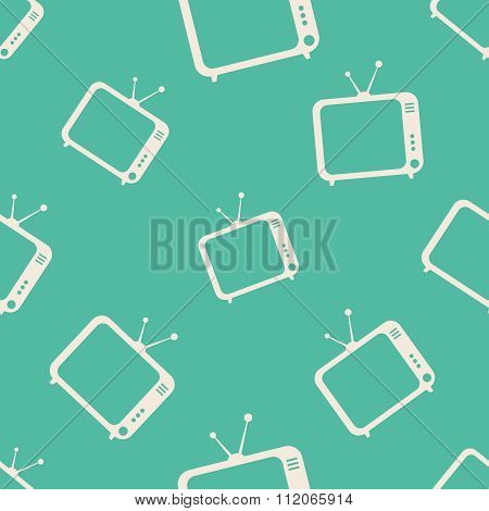 TV icons pattern
