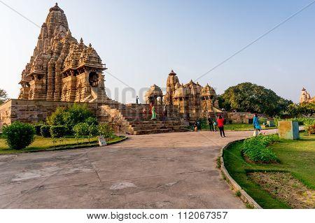 Khajurao temple complex in India