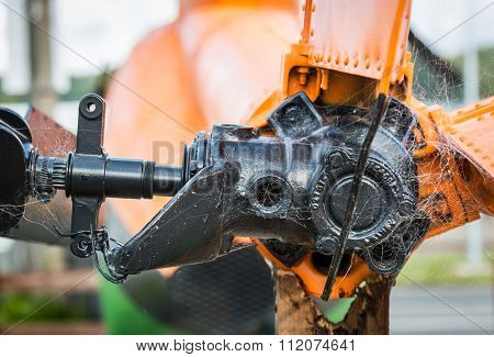 Helicopter Tail Gear Box