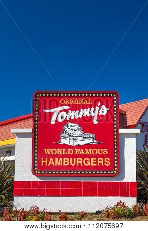 Original Tommy's Exterior And Sign