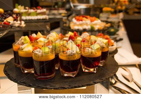 Fruit Jelly In The Glass L