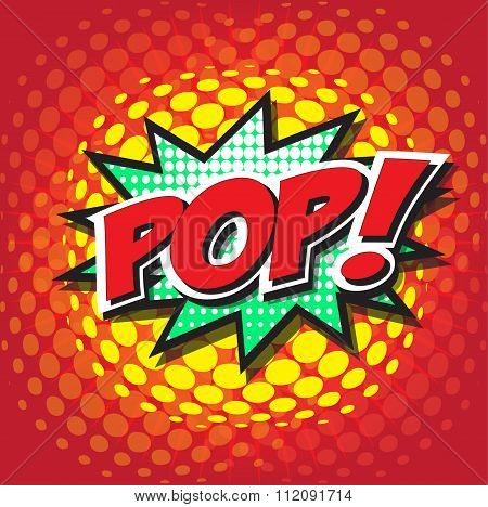 POP! wording sound effect