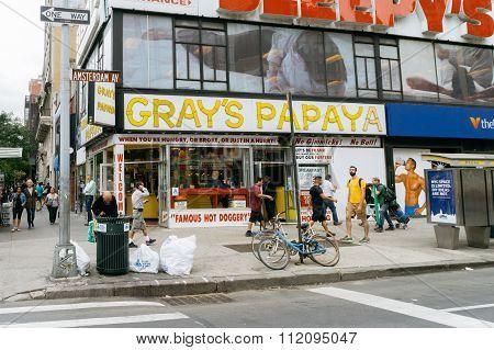 Gray's Papaya Is A Hot Dog Restaurant